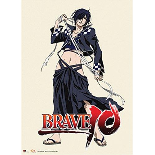 Brave 10 Rokuro Wallscroll