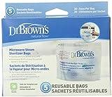 Dr. Brown's Microondas Vapor Esterilizador Bolsas por Dr. Brown's