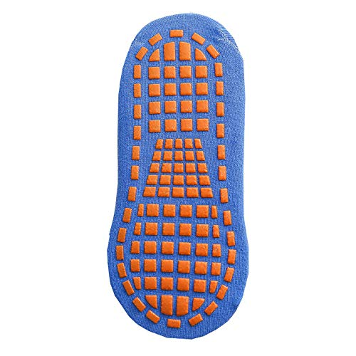 Eltern-Kind-Mode Socken Silikon Tupfen rutschfeste Baumwolle Trampolin Socken Sport Multi-Size-Socken-01_1-5 Jahre alt
