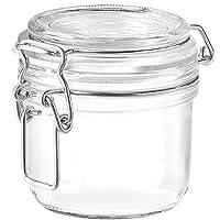 irpot - 6 x barattoli bormioli con chiusura ermetica in vetro vasetti fido 200