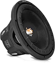 Lanzar 8 inch Car Subwoofer Speaker - Black Non-Pressed Paper Cone, Aluminum Voice Coil, 4 Ohm Impedance, 800 Watt Power and Foam Edge Suspension for Vehicle Audio Stereo Sound System - MAXP84