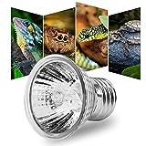 Zerodis Calefacción Bombilla, Acuario Sunbath lámpara Tortugas Calor emisor con E27 zócalo para Mascota Reptil(25W)