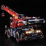 Dittzz Juego de luces LED para juguetes Lego, juego de iluminación compatible con camión todoterreno LEGO 42082 Technic (modelo no incluido).