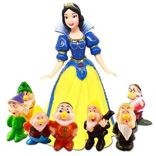 8 Piezas Cake Topper, Caricatura Cake Topper Cumpleaños Topper de Tarta Decoración Suministros Mini Juego de Personaje Animado Decoraciones de Pasteles Cumpleaños