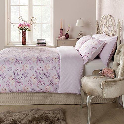 Ditton Hill Katrina Floral Vintage Super King Duvet Quilt Cover Bedding Set
