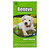 Benevo Vegan puppy food from Complete dry puppy food, wheat free, large and small breed. Holistic & non-gm dried kibble for puppies 2kg