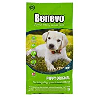 COMPLETE VEGAN PUPPY DRY FOOD. Benevo puppy dog food contains all the nutrients a puppy needs including a wide range of vitamins, minerals and essential fatty acids, without the need for slaughterhouse meat. Also contains Prebiotic FOS to help digest...