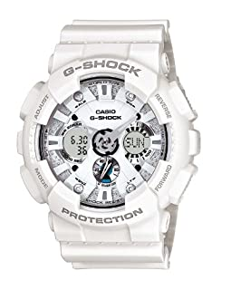 Casio G-SHOCK - Reloj analógico - digital de caballero de cuarzo con correa de resina blanca (alarma, cronómetro, luz) - sumergible a 200 metros (B005FEY9X0) | Amazon price tracker / tracking, Amazon price history charts, Amazon price watches, Amazon price drop alerts