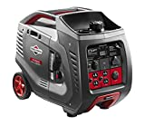Briggs & Stratton 30545 P3000 PowerSmart Series Portable 3000-Watt Inverter Generator with (4)