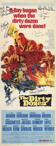 The Dirty Dozen POSTER Movie (14 x 36 Inches - 36cm x 92cm) (1967) (Insert Style A)
