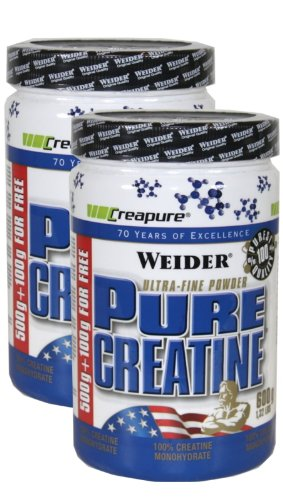 Weider Pure Creatine, Neutral, 2 x 600 gr.