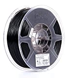 eSUN 1.75mm Black PLA PRO (PLA+) 3D Printer Filament 1KG Spool (2.2lbs), Black