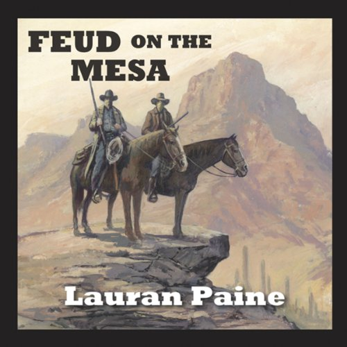 Feud on the Mesa audiobook cover art