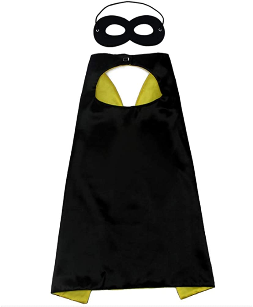 Proumhang Halloween Childrens Day Birthday Superhero Cloak Capes Kids 1-9 Years Old