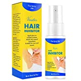 Hair Inhibitor, Painless Hair Growth Stop Spray, Hair Removal Spray, Non-Irritating Hair Removal Inhibitor, for Face, Underarm, Arm, Leg, Bikini, with Pleasant Scent, 20ML
