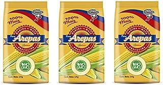 Gelbe Maismehl vorgekocht für Arepas - NO-GVO / Harina de Maiz amarilla pre-cocida para Arepas - NO-GMO