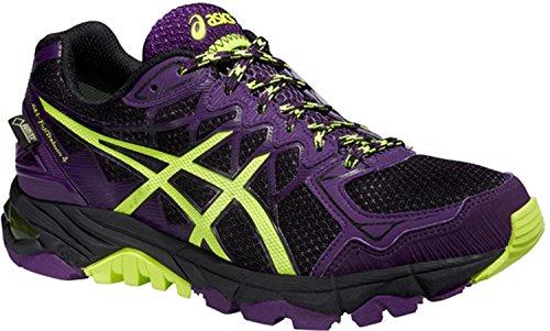 Asics Gel-fujitrabuco 4 G-tx - Zapatillas de correr para mujer, color Negro, talla 43.5 EU