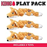 Kong Scrunch Knots Fox Juguete para Perro, pequeño/Mediano