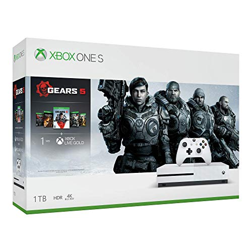 Paquete Xbox One S 1TB + Gears 5 – Bundle Edition