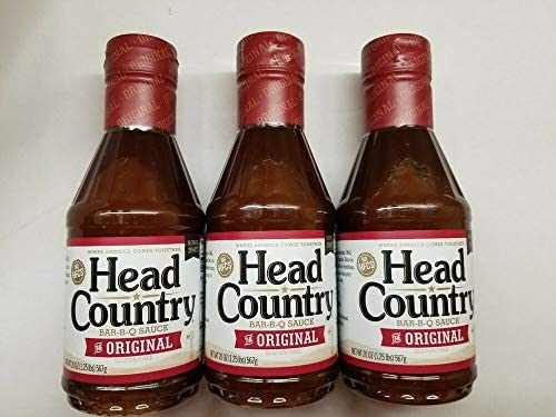 Head Country Barbecue BBQ Sauce ORIGINAL 3 Bottles 20oz per bottle product image
