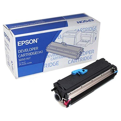 Epson C13S050167 EPL-6200 Tonerkartusche Standardkapazität 3.000 Seiten, schwarz
