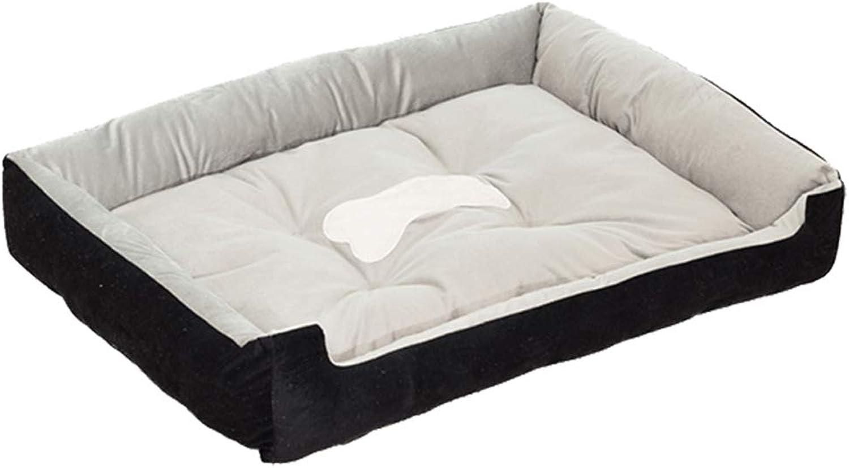 Beds Kennel Summer Dog Kennel Dog Nest Mat (Size   S)