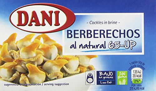Dani - Berberechos al Natural 65-UP, 102 g