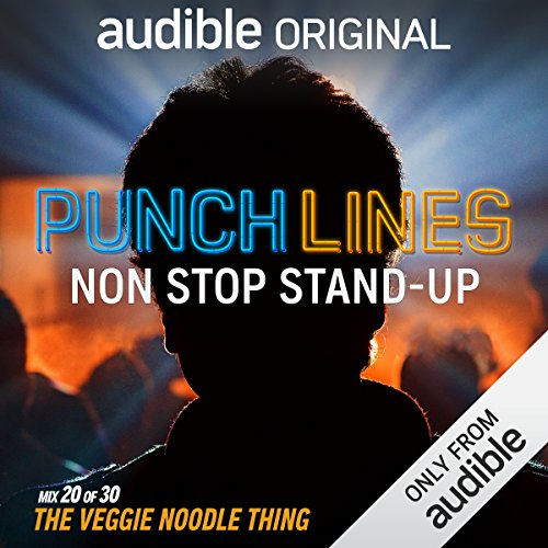 Ep. 20: The Veggie Noodle Thing (Punchlines) audiobook cover art