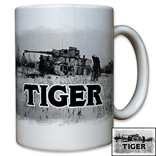 Tiger Panzer Wh Winter Schnee Deutschland Wk Panzerkampfwagen - Tasse #9531