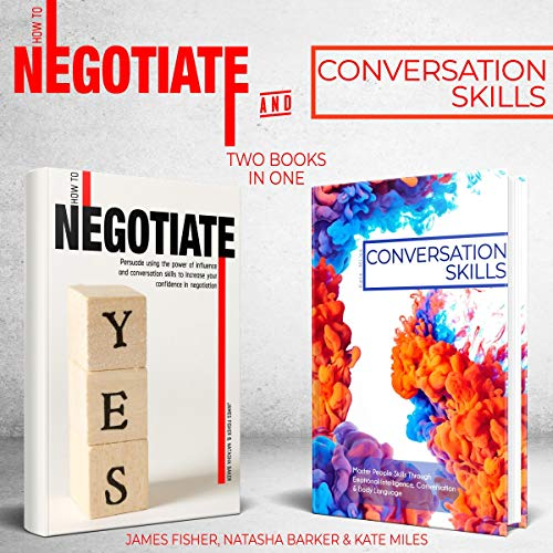 Conversation Skills and How to Negotiate: 2 books in 1 bundle cover art