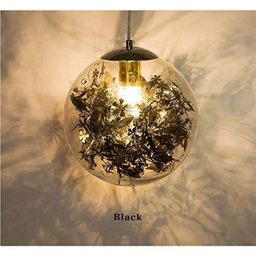 Lámpara Colgante Lluminación Colgantes Luz De Techo Colgante De La Lámpara De Cristal Del Café Del Restaurante Bar E27 Lámpara De Techo Lámparas Personalidad Creativa Habitación Sala De Decoración