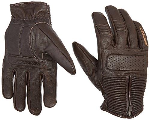 Joe Rocket 1630-2304 Men's Café Racer Motorcycle Gloves (Brown, Large)