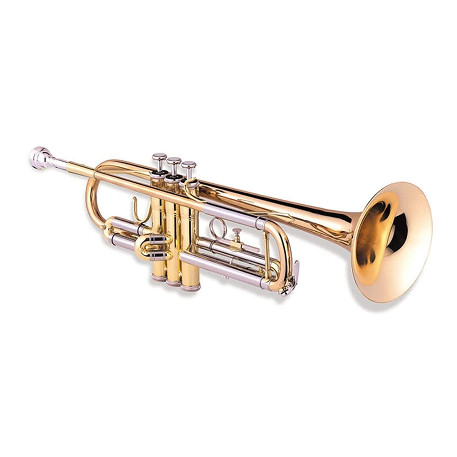 Standard Professional Stainless Steel Wind Instrument Trumpet