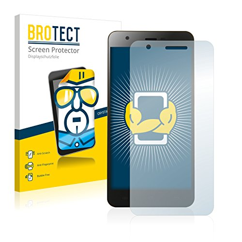 BROTECT Schutzfolie kompatibel mit Jiayu S3 Pro (2 Stück) klare Bildschirmschutz-Folie