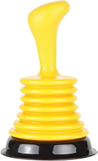 Home-X - Mini Plunger with Ergonomic Handle, Easy-To-Use Durable Design Unclogs Kitchen Sinks of with Minimal Effort
