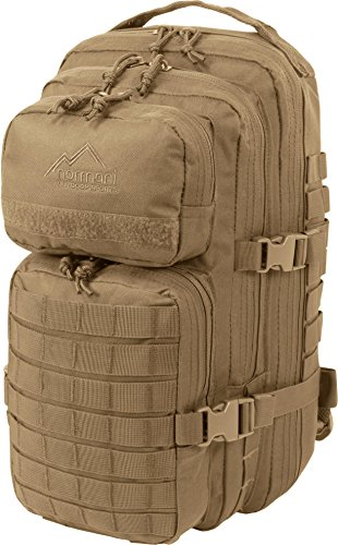 normani Rucksack US Assault Pack Small Farbe Coyote