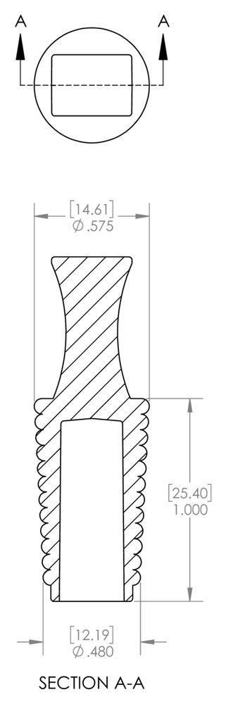 Caplugs SH-31661 Masking NBR Flangeless Ultra-Cheap Deals Plug. Plug 0.48