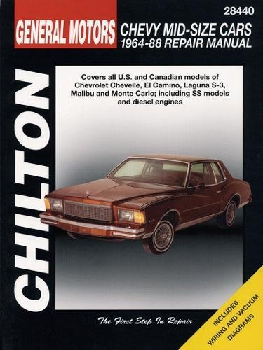 GM Chevrolet Mid-Size Cars, 1964-88 (Chilton Total Car Care Series Manuals)