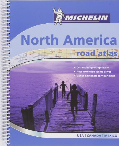Nordamerika: Road Atlas : USA, Canada, Mexico (MICHELIN Atlanten)
