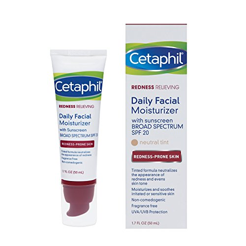 Cetaphil Redness Relieving Daily Facial Moisturizer SPF 20, 1.7 Ounce