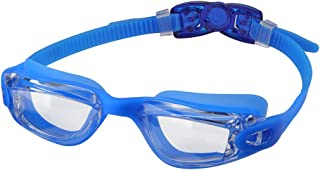 aegend Kids Swim Goggles, Swimming Goggles for Child Boys and Girls Age 3-12, Silicone Nose Bridge, Clear Vision, Easy-Adjustable Strap, UV Protection, Anti-Fog, No Leaking