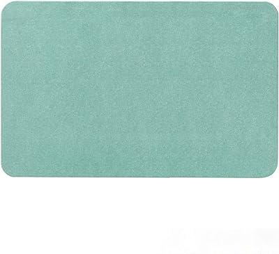 アンドエヌイー(&NE) 珪藻土バスマット 空 グリーン NIT-001-SO