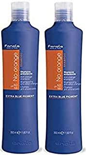 Fanola Shampoo Antiriflesso Arancione, 350.Ml, Pacco da 2