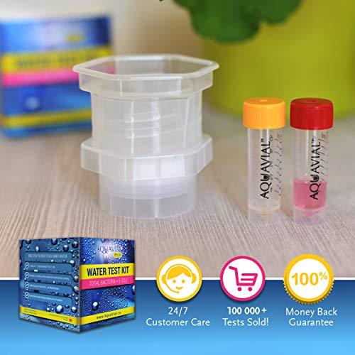 Aquavial Plus Total Bacteria E. Coli Drinking Water Test Kit
