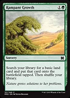 Magic: the Gathering - Rampant Growth (157/249) - Modern Masters 2015