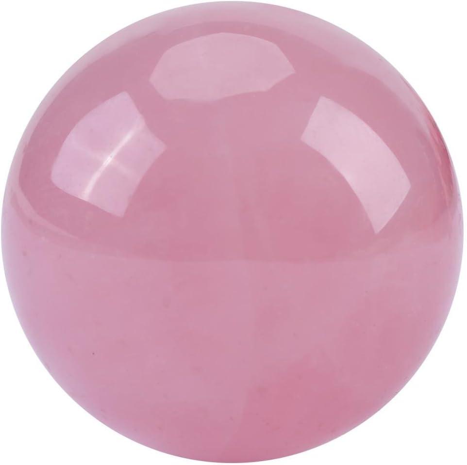 1 PCS Crystal Popular standard Ball Natural Quartz Stone Sphere Pink Popular brand in the world Rose