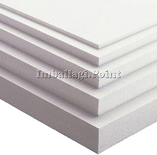 10 x placas de poliestireno multiuso de 100 x 50 cm, grosor
