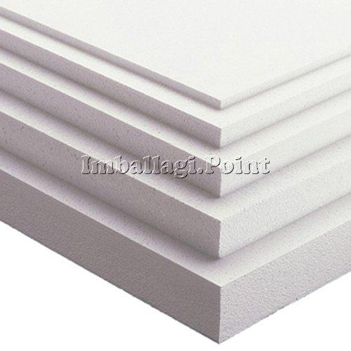 10 x placas de poliestireno multiuso de 100 x 50 cm, grosor: 1 cm, densidad: 15 kg/m2