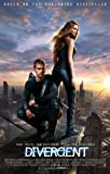 World Mall Group Divergent (2014) 12X18 Movie Poster (Thick) - Shailene Woodley, Kate Winslet, Theo James