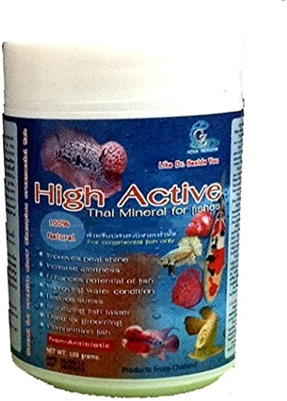High Active  Thai Mineral for Ornamental Fish Flowerhorn, Cichlids, Betta, Guppy, Arowana 1KG